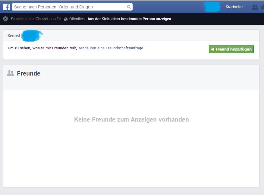 4.) Facebook Freundesliste