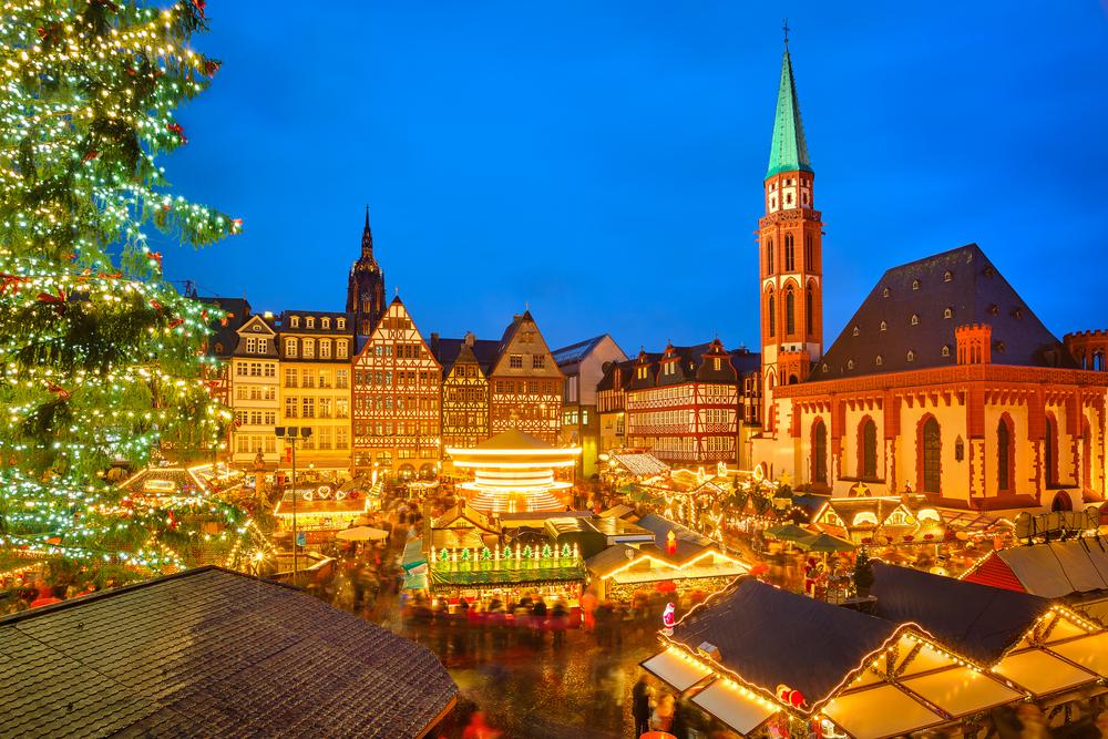 Beobachtung auf dem Frankfurter Weihnachtsmarkt