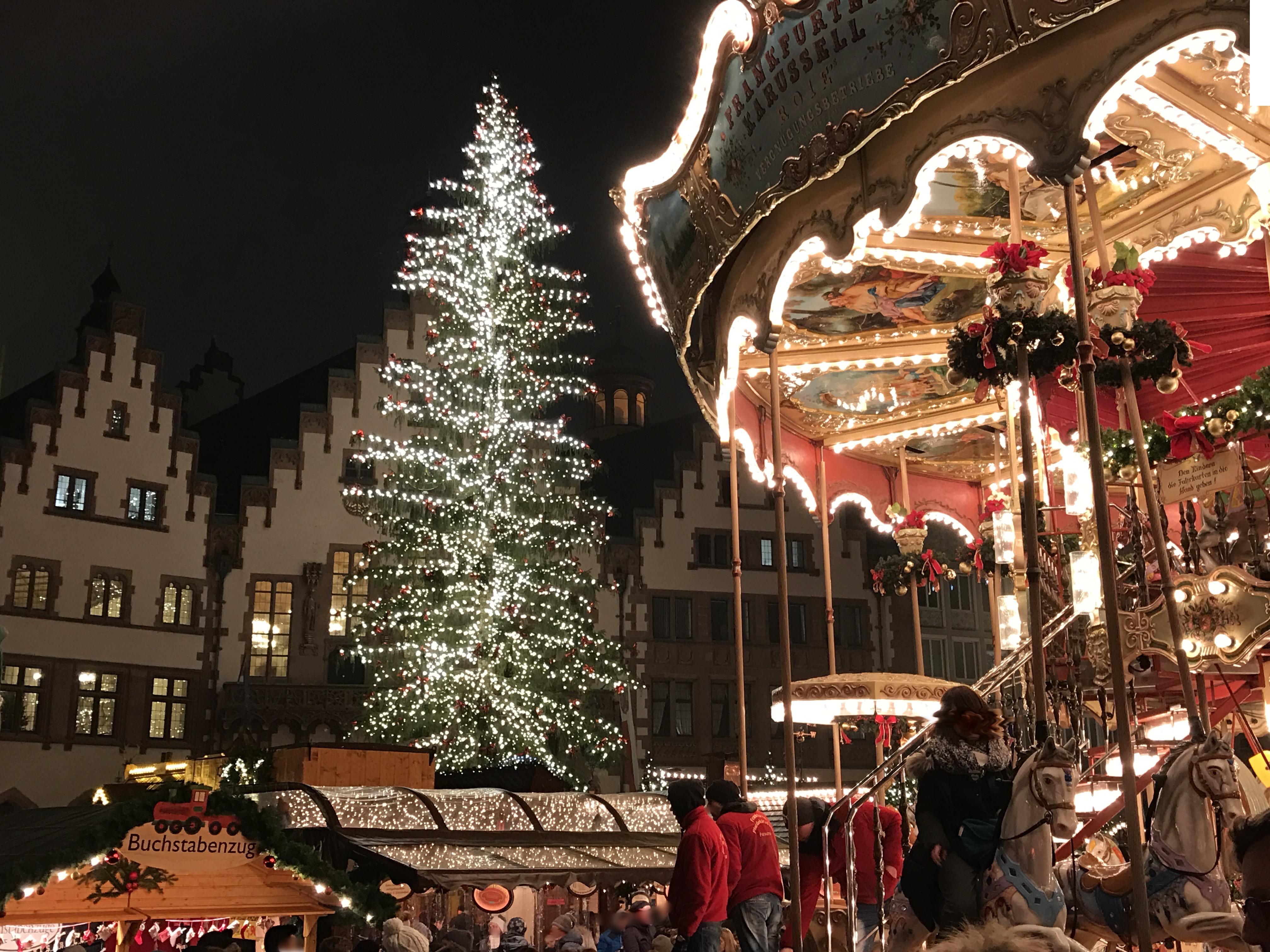 Beobachtungen Weihnachtsmarkt Frankfurt Detektiv