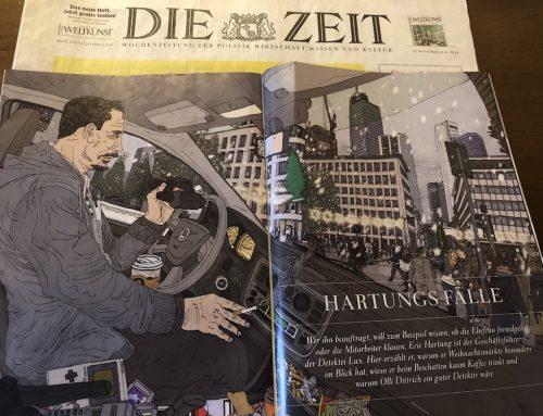 """Interview mit unserem Geschäftsführer im """"Zeit Magazin Frankfurt"""" von der Zeitung """"Die Zeit"""" vom 29.11.2018"""