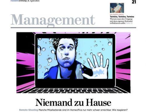 """Artikel in der Handelszeitung mit unserem Geschäftsführer – """"Niemand zu Hause – Remote Ghosting"""""""